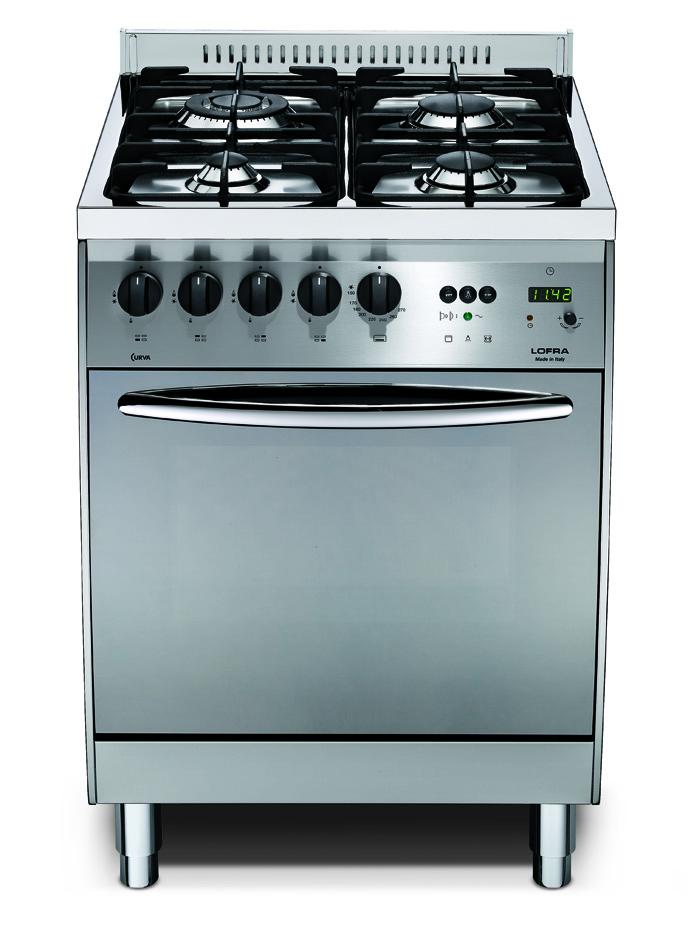 Lofra cucina curva inox c66gv c 60x60 - Cucina 1000 euro ...
