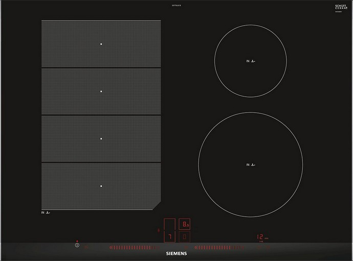 SIEMENS PIANO COTTURA INDUZIONE EX875LVC1E | Elettrodomesticistore.it